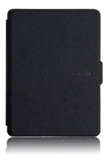 Capa Case Novo Kindle 10ª G. 2019 Preto- Fecho Magnético + Película E Caneta Touch