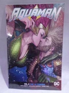 Aquaman Vol.5 Cae La Corona Dc Televisa Tpb