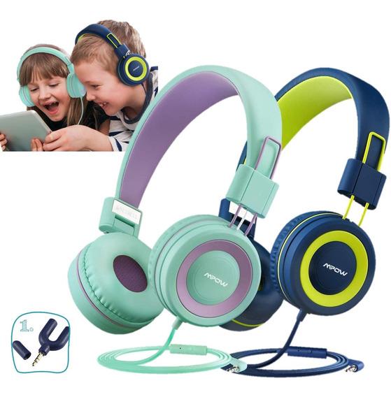 Audifonos Para Niños Hermanitos Telefonos, Tabletas, iPod