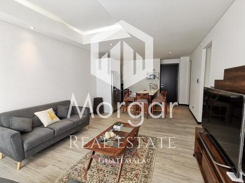 Apartamento Amueblado Alquiler Zona 16 En $1,800 De 3 Dorm