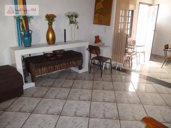 Sobrado Residencial À Venda, Santa Cecília, São Paulo. - So0019
