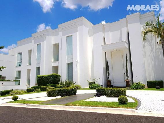 Casa De Condomínio Alto Padrão À Venda, Residencial Ilha De Capri - Bauru/sp - Ca1242