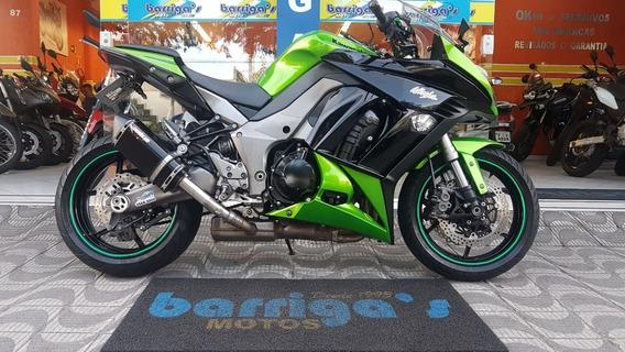 Kawasaki Ninja 1000cc 2012 Verde Impecável