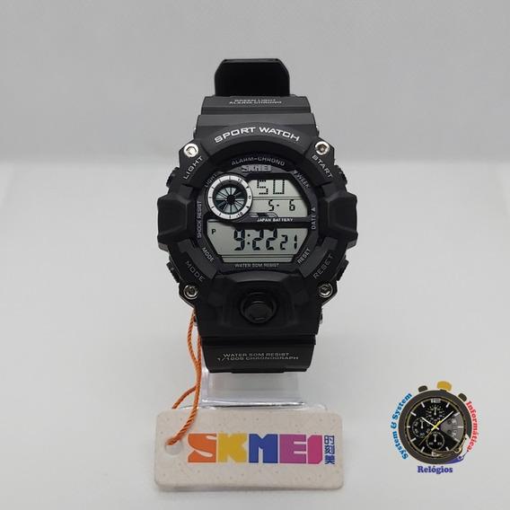 Relógio Skmei Digital 1019 Preto