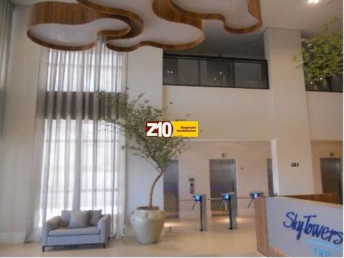 Sl00855 - Sky Towers - Excelente Sala Comercial Com Visão Envidraçada Em Localização Estratégica Na Entrada Da Cidade - Sala Comercial Com Wc. R$ 1.9 - Sl00855 - 33299629
