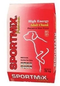 Imagen 1 de 1 de Sportmix High Energy Chunk 20 Kg  - Despacho Gratis Rm