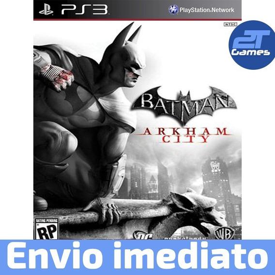 Batman Arkham City Ps3 Play 3 Psn Legendado Português Pt Br
