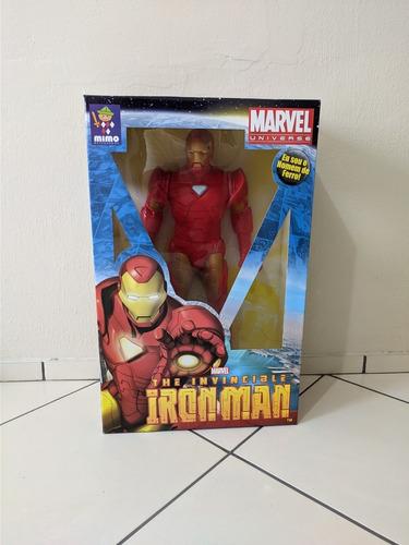 Boneco Homem De Ferro Premium Grande