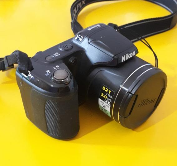 Câmera Fotográfica Semi Profissional Nikon Coolpix L810