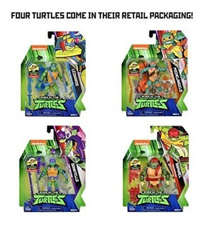 Tortugas Ninja Rise Of The Teenage Mutant Ninja Muñeco M4e