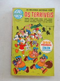 Disney Especial Nº 5! 1ª Edição! Os Terríveis! Jun 1973!