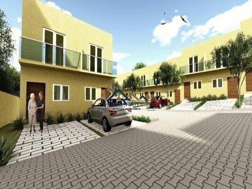 Casa Em Condomínio Fechado Na Estr. Do Capuava Km 26 Da Raposo - 481