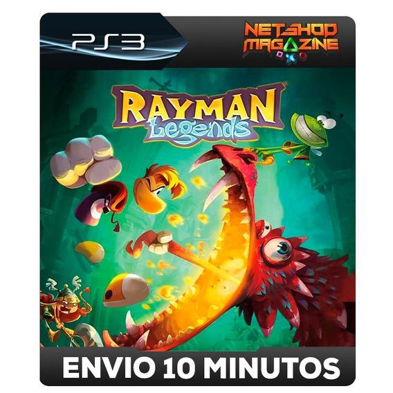 Rayman Legends - Português - Psn Ps3 - Envio Imediato