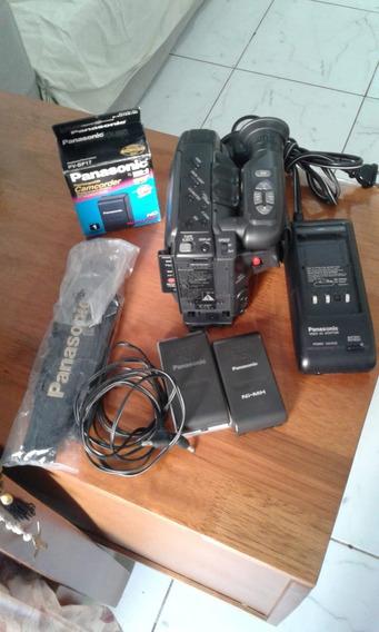 Filmadora Panasonic Palmcorder Iq X12 Completa