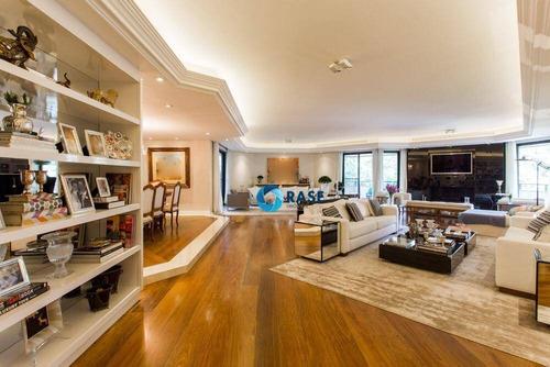 Imagem 1 de 30 de Apartamento Com 4 Dormitórios À Venda, 640 M² - Moema - São Paulo/sp - Ap7948