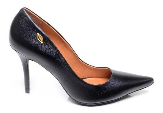 Sapato Feminino Scarpin Luz Da Lua Preto