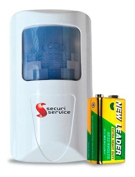 Sensor Infravermelho Gcp Ss 2200 Sem Fio Para Alarme