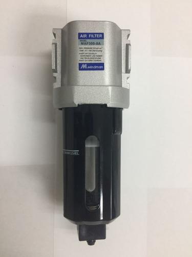 Filtro Para Aire Comprimido Dreno Manual Conexion 3/8  Npt