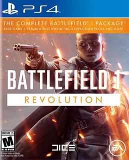 Battlefield 1 Revolution / Edición Full / Juego Físico / Ps4
