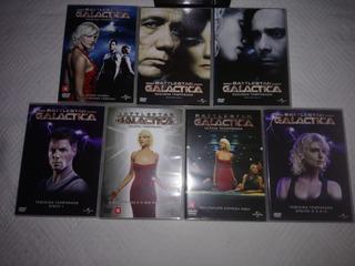 Battlestar Galactica Série Completa 24 Dvds Usado