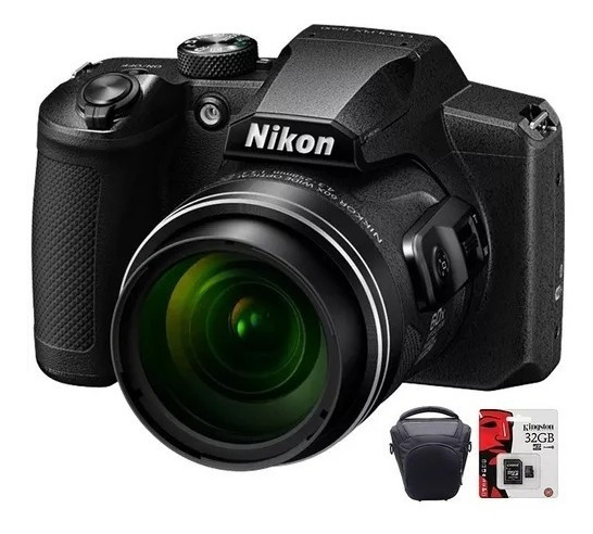 Camara Nikon Digital Coolpix B600 X60 Hd Zoom Bolso 32gb