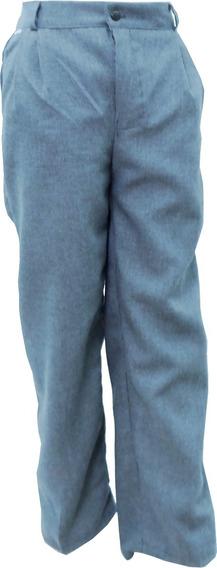 Pantalón Escolar Con Resorte Polilana Gris Perla 4 A 16