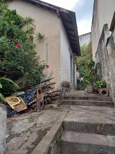 Terreno À Venda, 210 M² Por R$ 530.000,00 - Parque Das Nações - Santo André/sp - Te1062