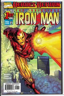 The Invincible Iron Man Vol 1 #1 Portada Regular