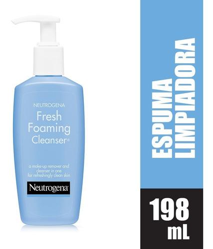 Espuma Limpiadora Neutrogena Fresh Foaming X 198ml