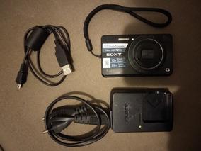 Câmera Digital Sony Cyber-shot Dsc-w690 16.1 Mp Com 10x Zoom