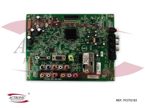 Placa Principal Aoc 715g3983-mo2-000-004l Com Conector Lvds
