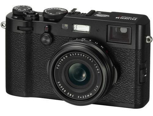 Câmera Fujifilm X100f Com Lente 23mm (preta)