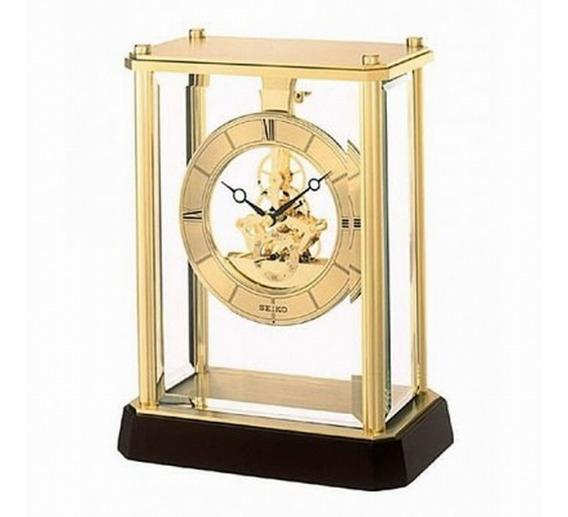 Reloj De Mesa Seiko Qhg033g | Original | Agente Oficial