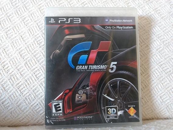 Jogo Ps3 Gt5 Gran Turismo 5 Mídia Física