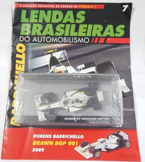 Lendas Brasileiras Ed.07 Brawn Bgp 001 Rubens Barrichello
