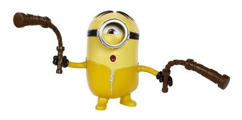 Figura Minions Travessos Stuart Com Nunchaku - Mattel