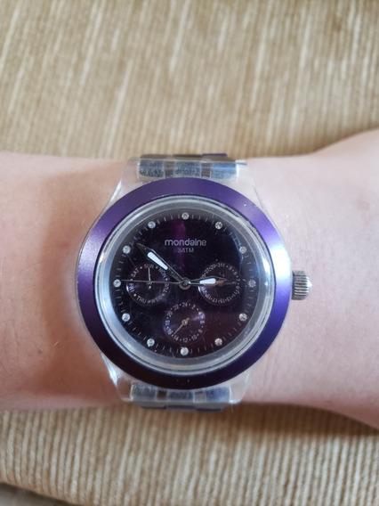 Relógio Mondaine Roxo