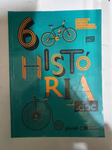 Livro Historia.doc 6 Usado Em Bom Estado