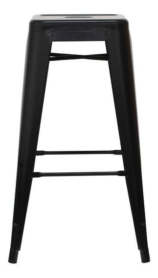 Piso Taburete Form Design 76 Cm Tolix Negro