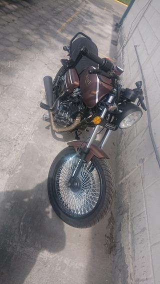 Vendo Cambio Moto Cafe Racer Bullet Nueva