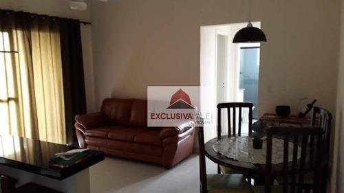 Apartamento Com 2 Dormitórios À Venda, 68 M² Por R$ 371.000,00 - Jardim Bela Vista - São José Dos Campos/sp - Ap2626