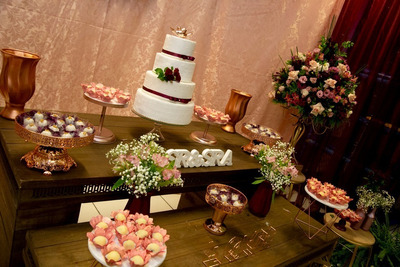 Buffet Decoração Kit Festa Festa Em Casa Casamento 15 Anos