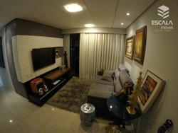 Apartamento Com 3 Quartos À Venda, 94 M², Área De Lazer, Mobiliado, 2 Vagas - Varjota - Fortaleza/ce - Ap0944