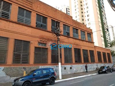 Galpão Para Alugar, 3875 M² Por R$ 59.000/mês - Mooca - São Paulo/sp - Ga0142
