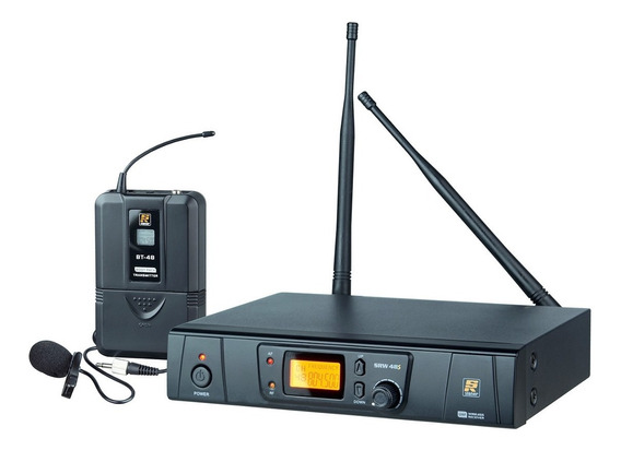 Sistema De Microfone Sem Fio Uhf Lapela Srw-48s - Staner