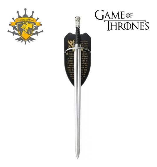 Espada Longclaw Jon Snow Game Of Thrones Valyrian Steel