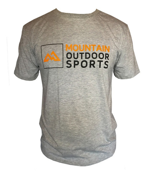 Camiseta Mountain Wear Cinza Claro / Cm02
