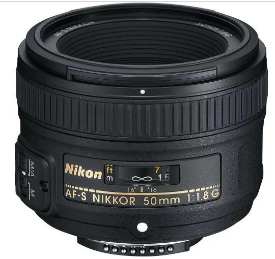 Lente Nikon 50mm F/1.8g Af-s Fx Case