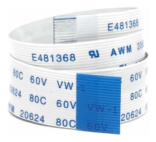 Imagen 1 de 5 de Cable Flex Membrana Plano Cinta 20 Pines 60 Cm Invertida 80c