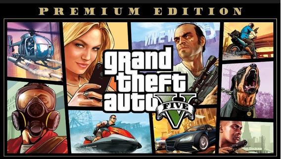 Gta V - Premium Online Edition Pc